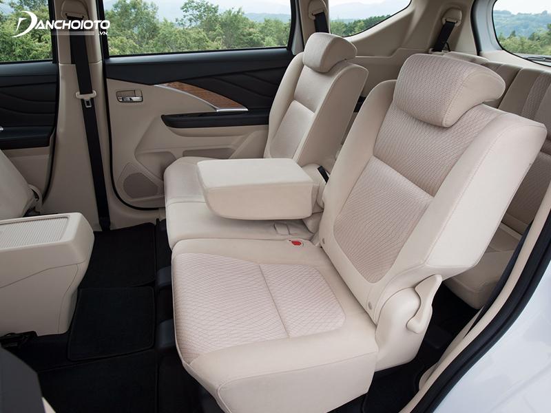 Hàng ghế thứ hai Mitsubishi Xpander