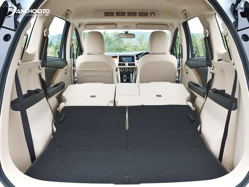 Khoang hành lý Mitsubishi Xpander có thể mở rộng thông minh