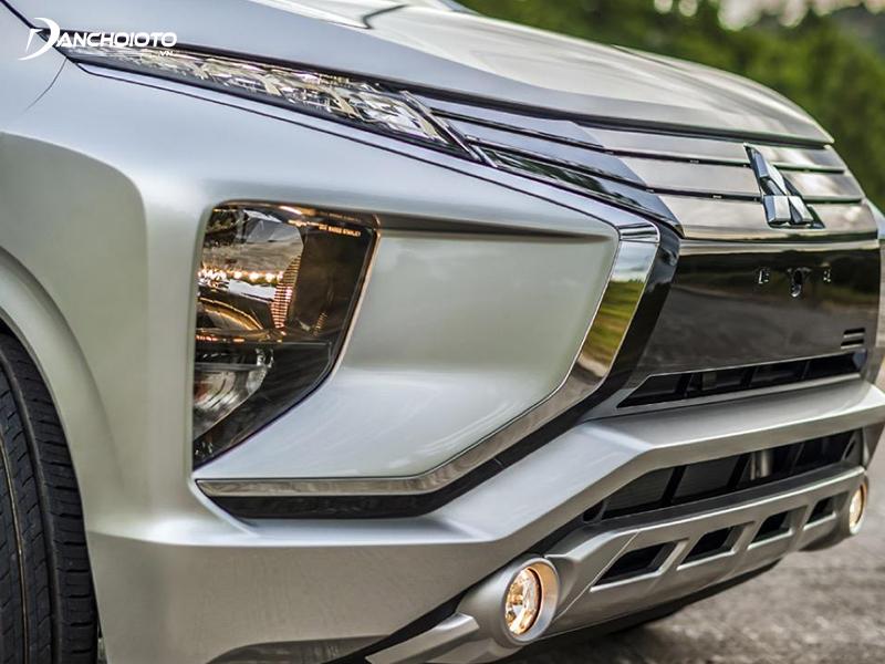 Mitsubishi Xpander có dải định vị LED chuốt mỏng hiện đại
