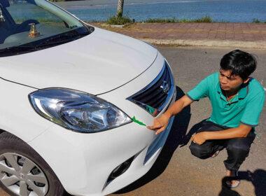 """Mua xe Nissan Sunny cũ cẩn thận xe """"mua nhầm taxi"""""""