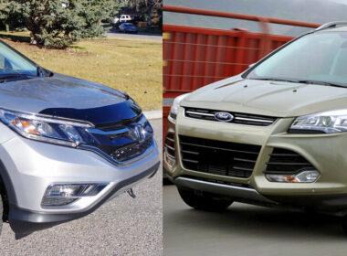 Mua xe cũ tầm 600 triệu: Chọn Ford Escape 2013 hay Honda CR-V 2012?