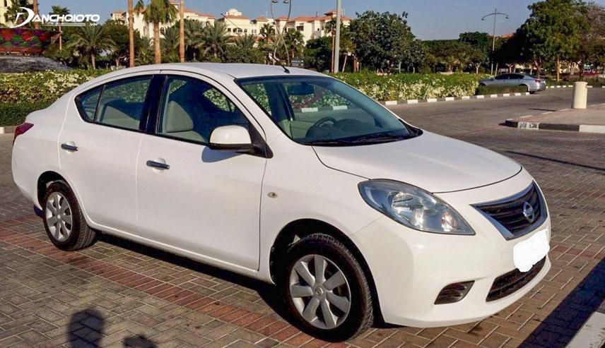 Nissan Sunny 2013 cũ là mẫu xe thuộc phân khúc sedan cỡ nhỏ