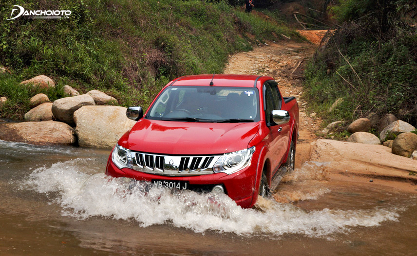 Triton's engine power is superior to that of Hilux