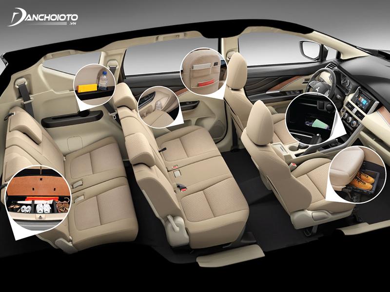 """Tiện ích """"Omotenashi"""" trên Mitsubishi Xpander"""
