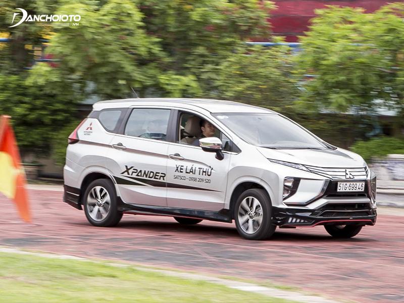Về độ ổn định, Mitsubishi Xpander được đánh giá cao