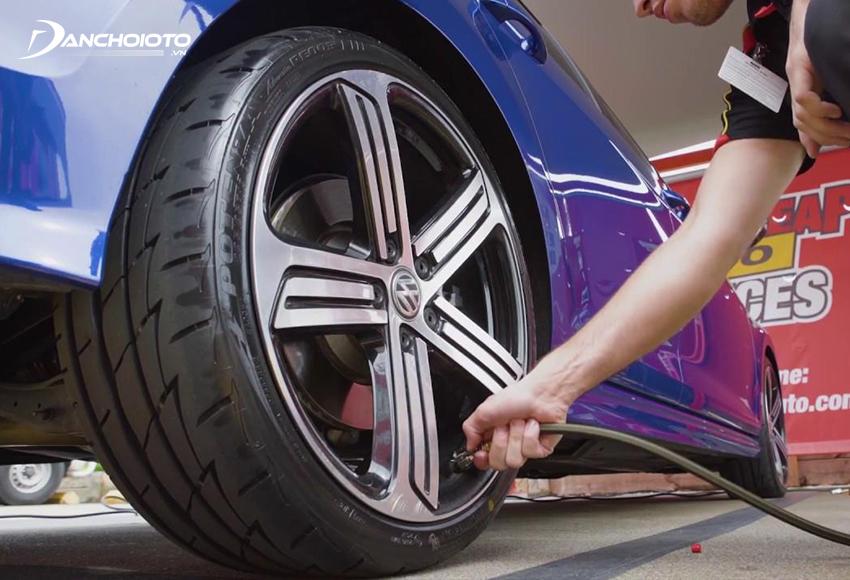 Bơm lốp ô tô bằng khí Nitơ mang đến nhiều lợi ích
