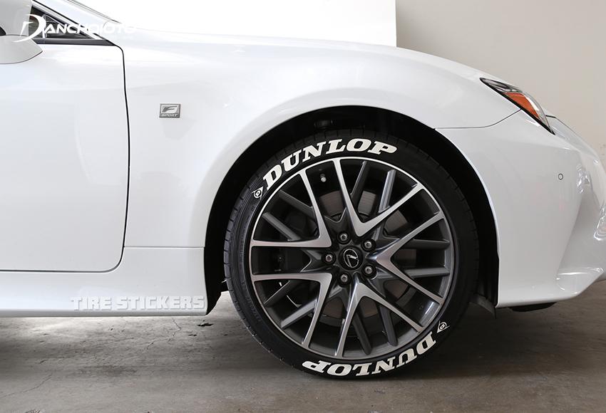 Lốp ô tô Dunlop có độ bền cao nhưng tương đối ồn