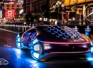 Mercedes-Benz Vision AVTR: Siêu phẩm đến từ tương lai