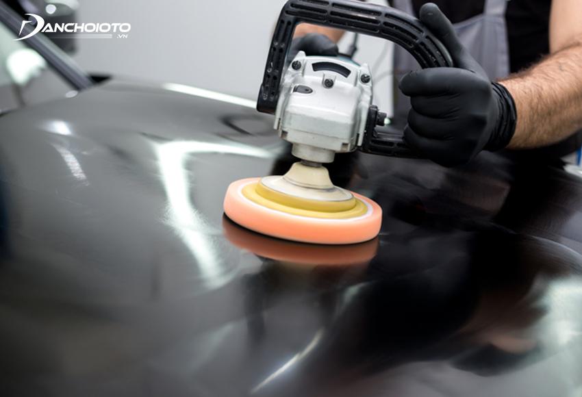 ên hiệu chỉnh - đánh bóng sơn xe ô tô định kỳ 6 – 12 tháng/lần