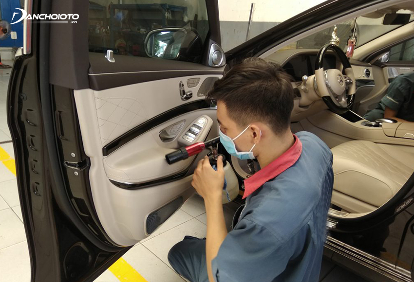Nghề nội thất ô tô là một trong những nghề hot nhất hiện nay