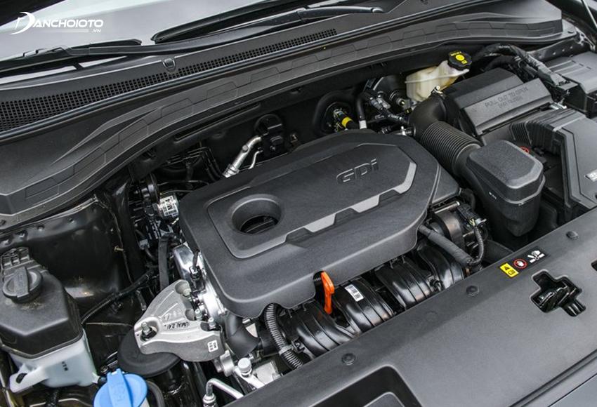 Hyundai SantaFe 2020 có 2 tuỳ chọn động cơ xăng và dầu Diesel