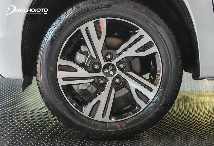 Lazang Mitsubishi Xpander 2020 vẫn 16 inch nhưng đổi thiết kế mới