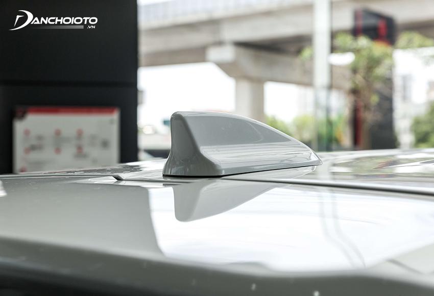 Mitsubishi Xpander 2020 được trang bị ăng tên vây cá mập hiện đại hơn