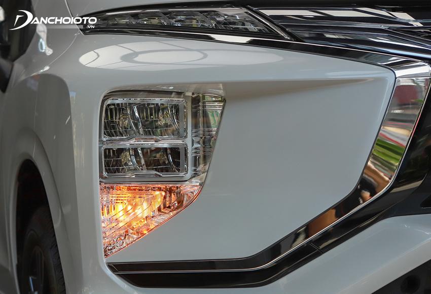 Mitsubishi Xpander AT 2020 đã được nâng cấp sử dụng đèn Bi-LED hiện đại