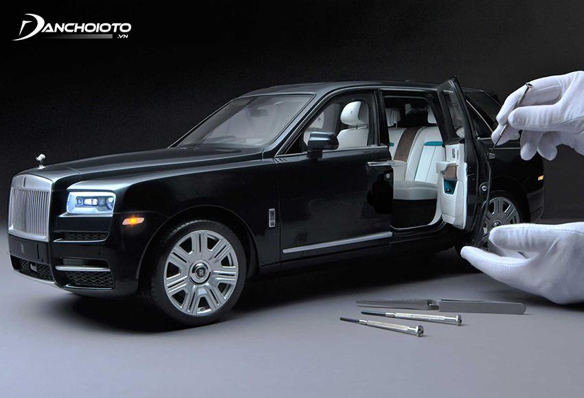 Giá xe mô hình tĩnh cao cấp thường dao động từ mức 10 triệu đồng trở lên
