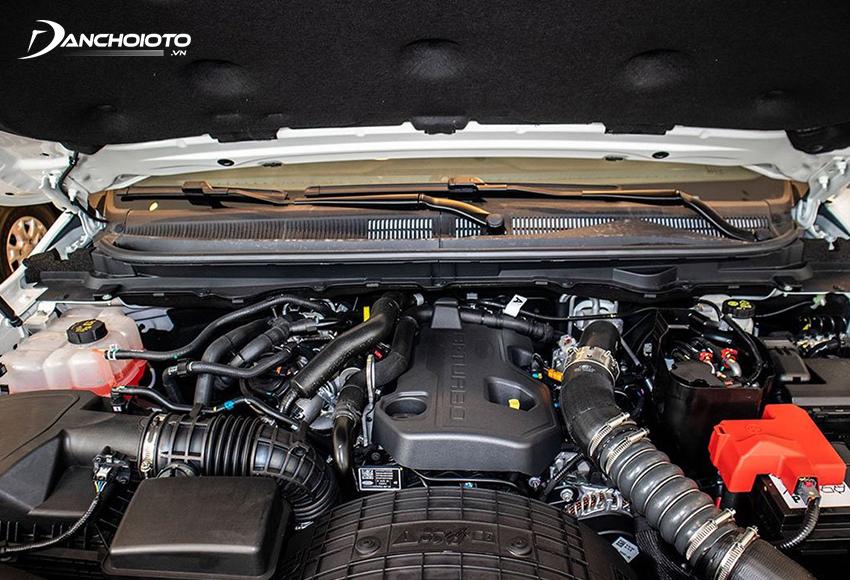 Động cơ Bi-Turbo Diesel 2.0L trên Ford Everest được đánh giá mạnh mẽ nhất phân khúc