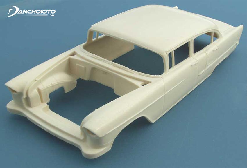 Dòng xe ô tô mô hình Resin có độ bền không cao như Diecast do bằng nhựa