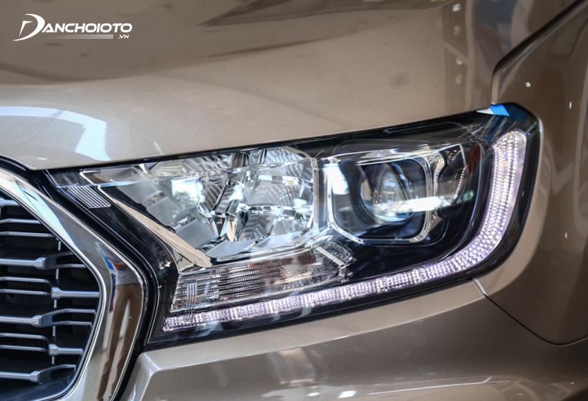 Ford Everest 2021 được trang bị đèn Bi-LED