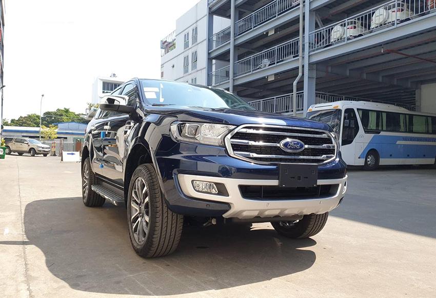 Ford Everest Titanium 4WD là lựa chọn hàng đầu nếu điều kiện tài chính thoải mái