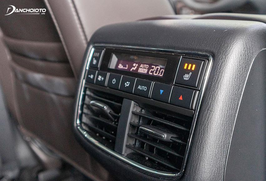 Mazda CX-8 2020 đẳng cấp với điều hoà tự động 3 vùng độc lập