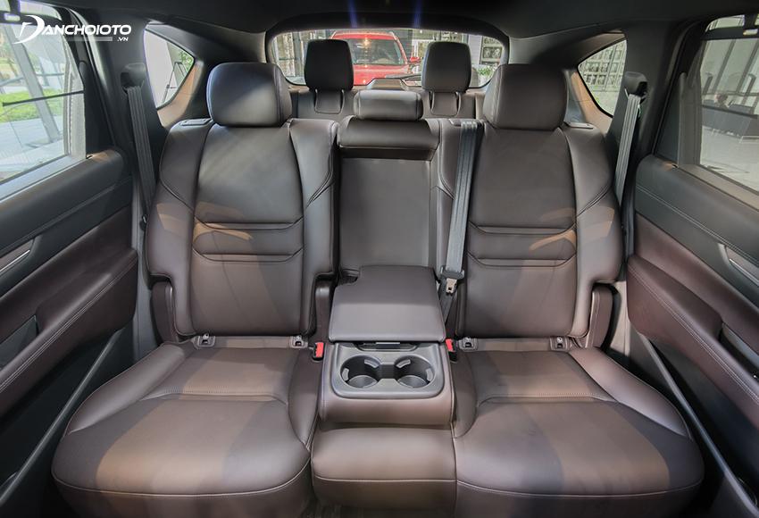 Mazda CX-8 2020 sở hữu một không gian rộng rãi bậc nhất phân khúc crossover 7 chỗ tầm trung