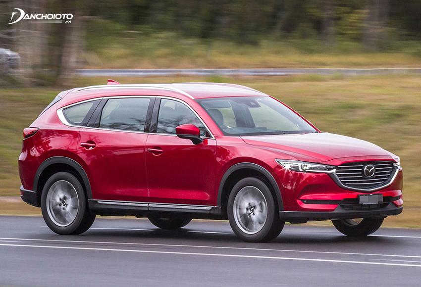 Mazda Radar Cruise Control có khả năng xác định tốc độ xe phía trước để tự điều chỉnh tốc độ xe giữ khoảng cách an toàn