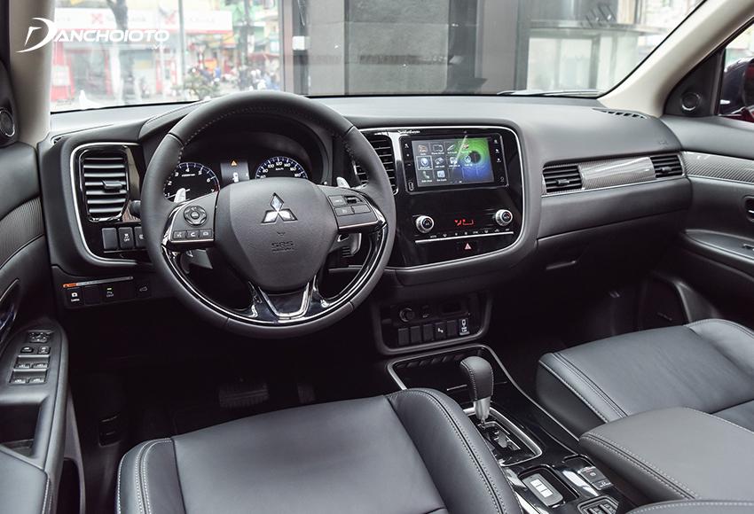 Nội thất Mitsubishi Outlander 2020 mang đậm dấu ấn xe Nhật