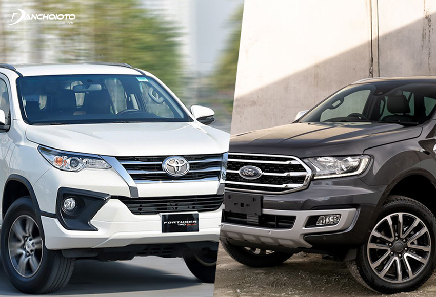 So sánh Everest và Fortuner, 1 bên mang chất hầm hố hơi thô của xe SUV Mỹ, 1 bên mang nét hào hoa, tinh tế của xe Nhật