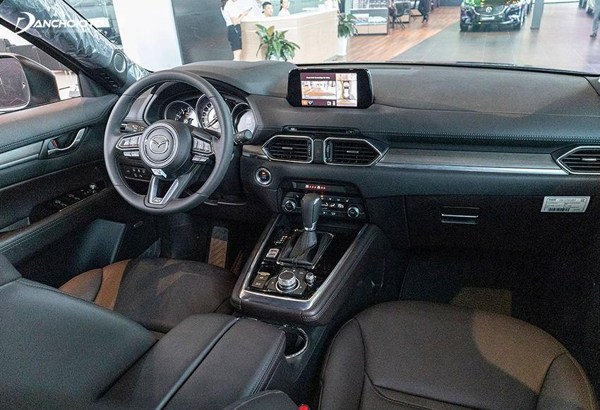 """Taplo Mazda CX-8 2020 """"thừa hưởng"""" trọn vẹn thiết kế từ Mazda CX5"""