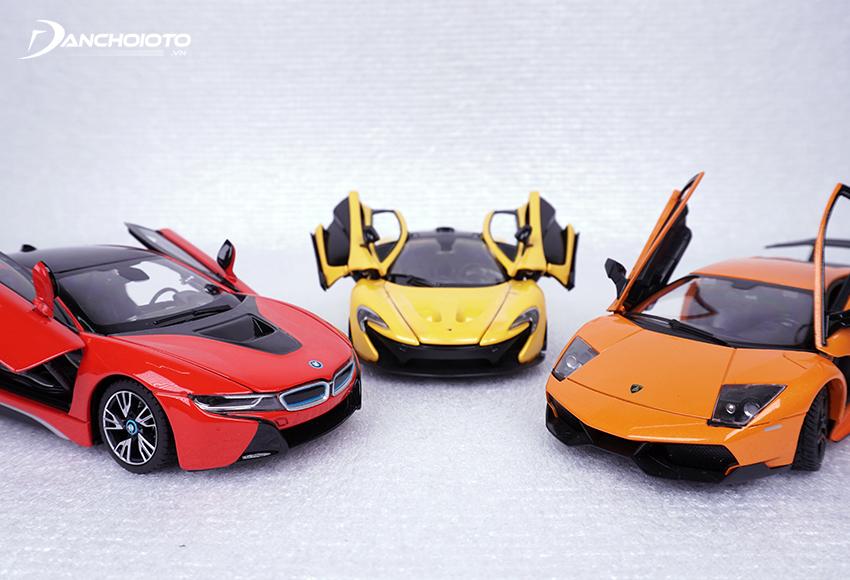 Xe mô hình tĩnh là phiên bản thu nhỏ, mô phỏng lại thiết kế, kiểu dáng của xe thật