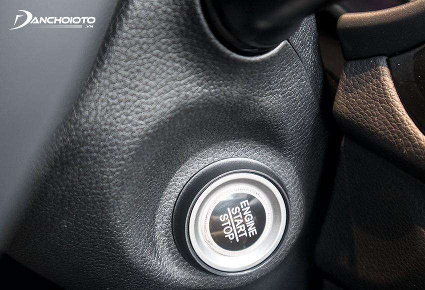 Chỉ bản Kia Soluto Luxury 2020 được trang bị chìa khoá thông minh & khởi động bằng nút bấm