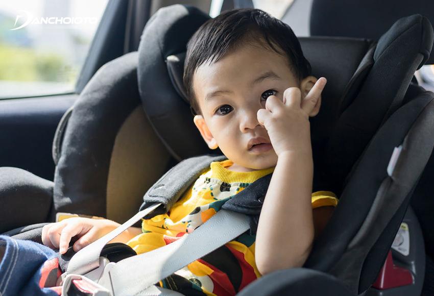 Có rất nhiều cách cách chống say xe trẻ em hữu hiệu