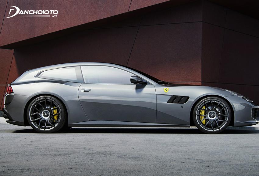 Ferrari GTC4Lusso T là phiên bản động cơ phân khối nhỏ của GTC4Lusso