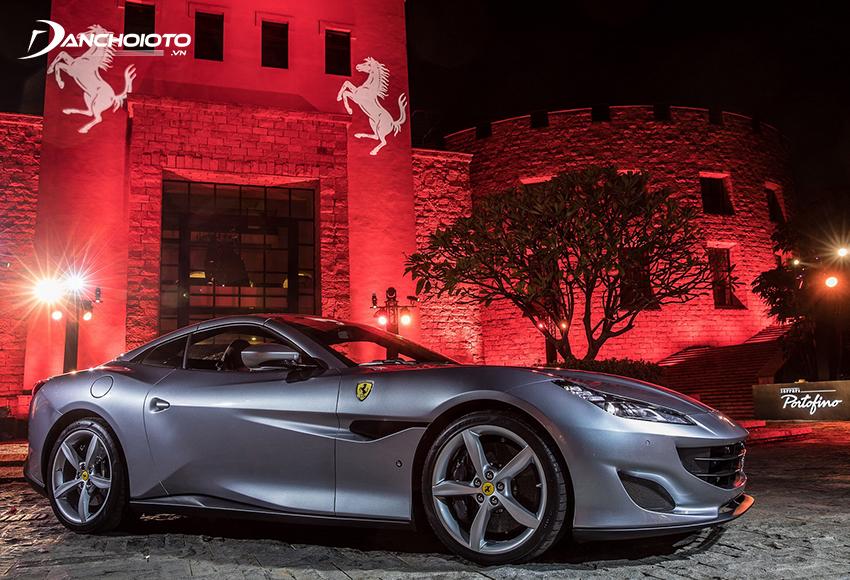 Ferrari Portofino sở hữu diện mạo hoàn toàn mới, sắc sảo và góc cạnh hơn