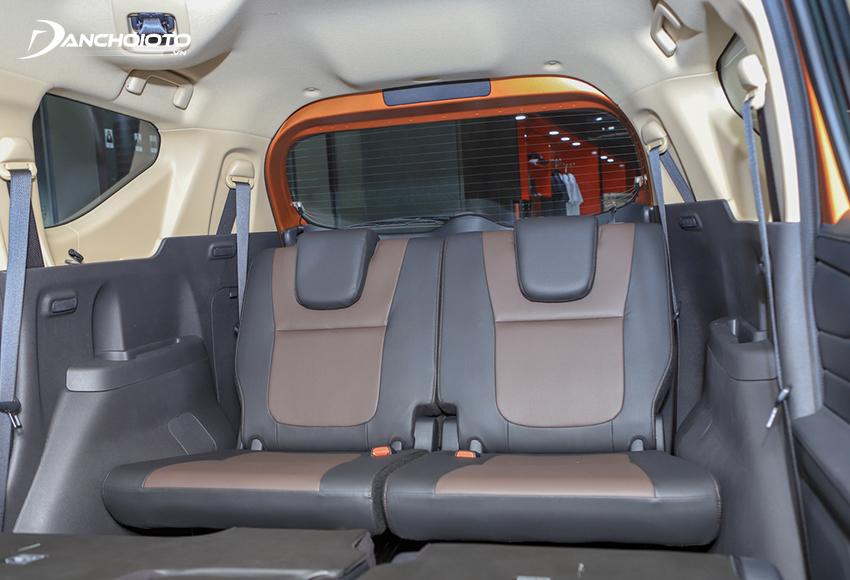 Ghế Mitsubishi Xpander Cross 2020 được bọc da phối 2 màu