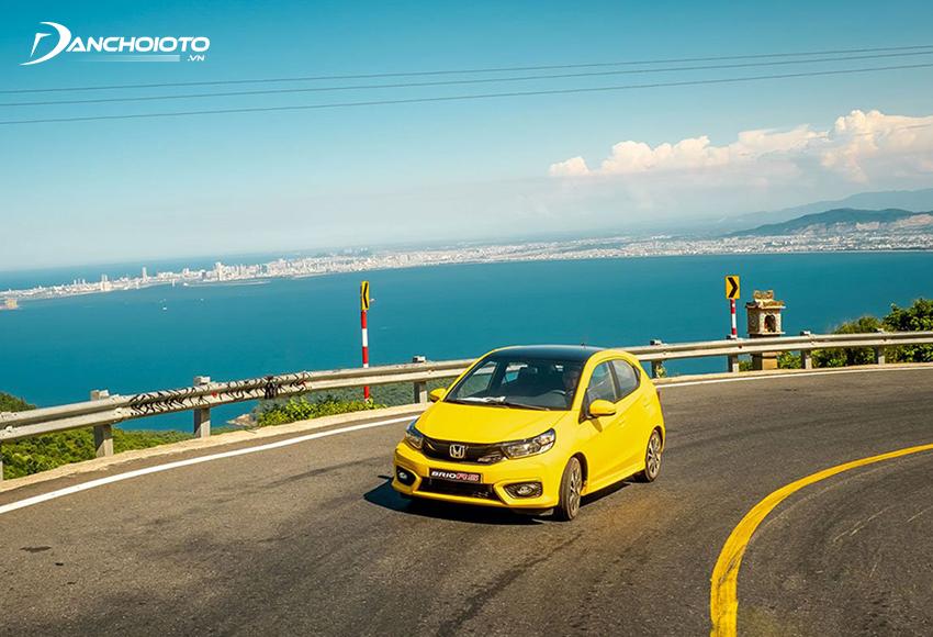 Hệ thống khung gầm Honda Brio được cải tiến cứng, vững, hệ thống treo êm