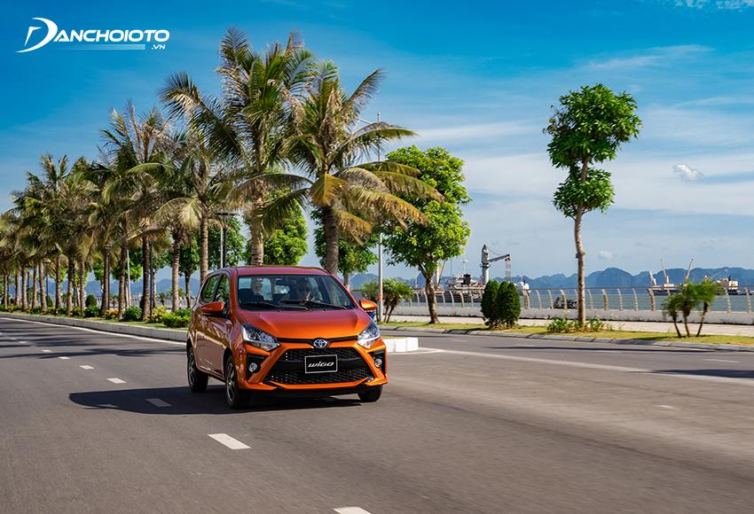 Hệ thống treo Toyota Wigo mang đến cảm giác ổn định tốt