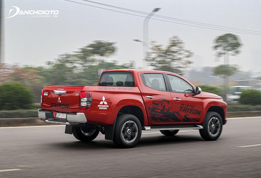 Hộp số tự động 6 cấp giúp Mitsubishi Triton 2020 nhẹ hơn
