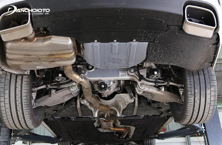 Khung gầm VinFast Lux A2.0 dựa hoàn toàn vào nền tảng của xe BMW 5 Series