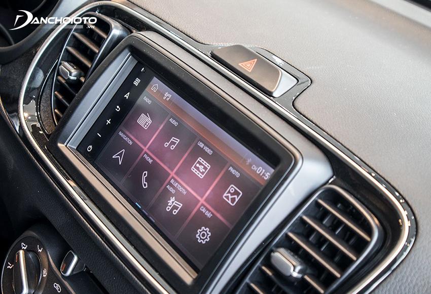 Kia Soluto 2020 được trang bị màn hình cảm ứng 7 inch nhanh nhạy, hiển thị sắc nét