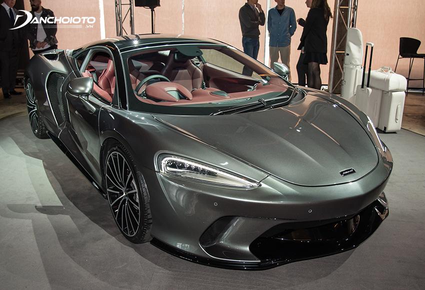 McLaren GT được xây dựng từ cấu trúc MonoCell II-T Monocoqua