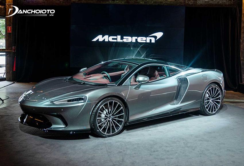 McLaren GT ra mắt vào năm 2019, thiết kế dựa trên nền tảng từ McLaren 720S