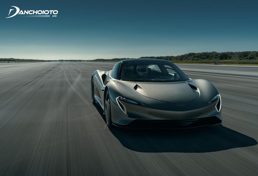 """McLaren Speedtail là mẫu xe thể thao truyền động hybrid, được xem là """"người kế nhiệm"""" của McLaren F1"""