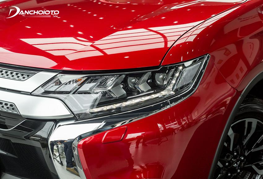 Mitsubishi Outlander 2020 facelift có một số thay đổi, nâng cấp mới so với trước