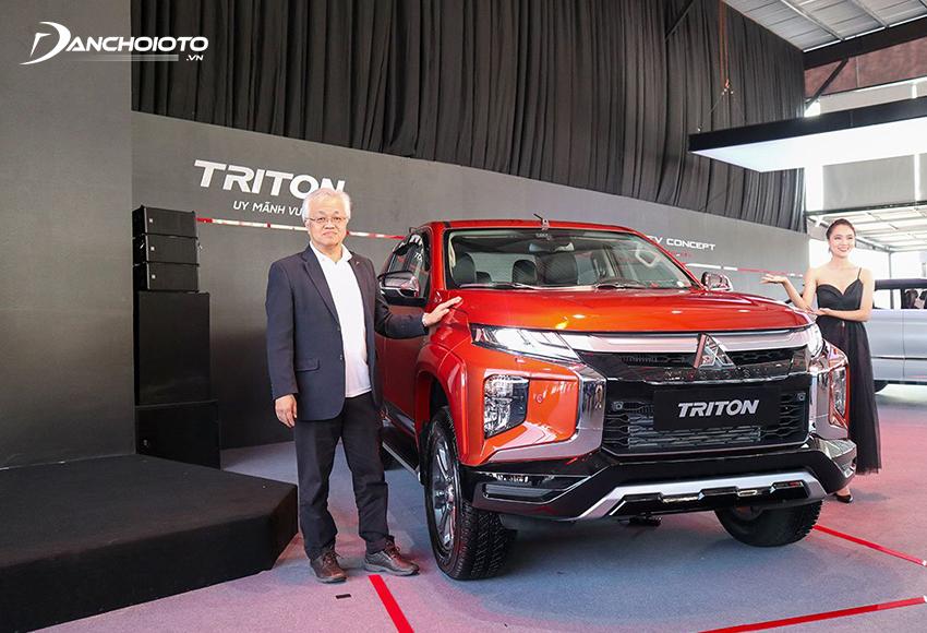Mitsubishi Triton 2020 là phiên bản nâng cấp giữa vòng đời trong thế hệ thứ 6