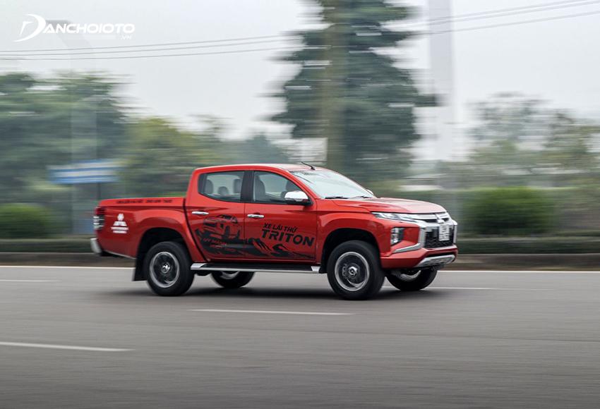 Mitsubishi Triton 2020 sở hữu khả năng tăng tốc ấn tượng