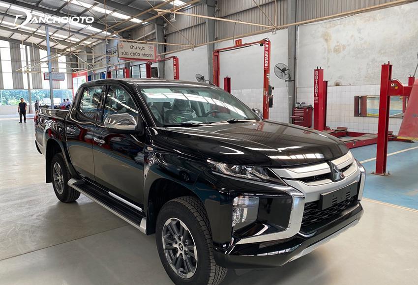 Mitsubishi Triton 4x2 AT MIVEC là lựa chọn phù hợp với ai đang có nhu cầu tìm mua xe bán tải giá rẻ tầm giá 600 triệu đồng