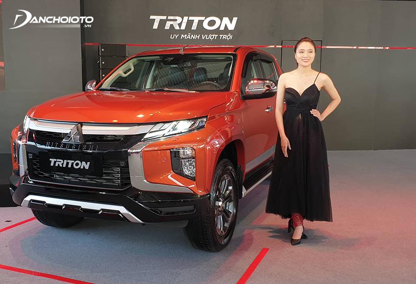 Mitsubishi Triton sở hữu thiết kế vừa mạnh mẽ, nam tính, vừa thanh lịch, sang trọng