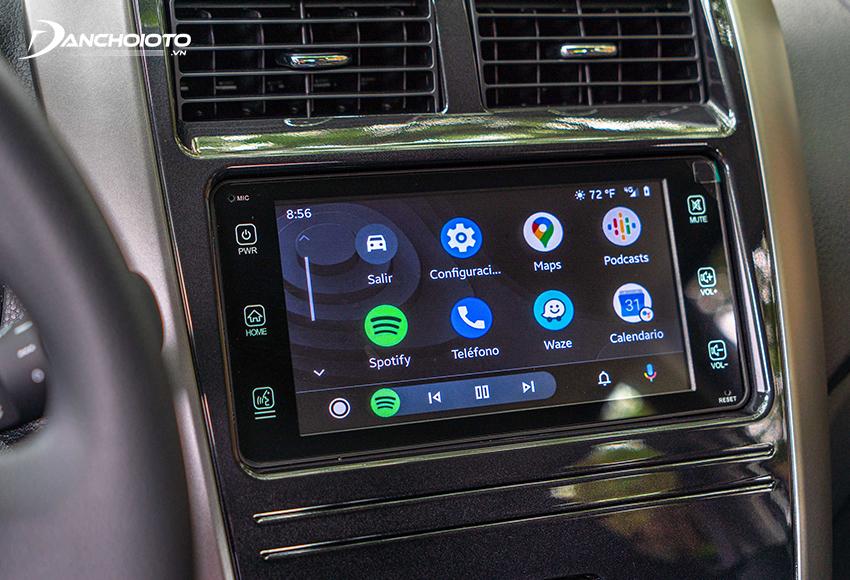 Ở Toyota Wigo facelift 2020, màn hình cảm ứng 7 inch trở thành trang bị tiêu chuẩn