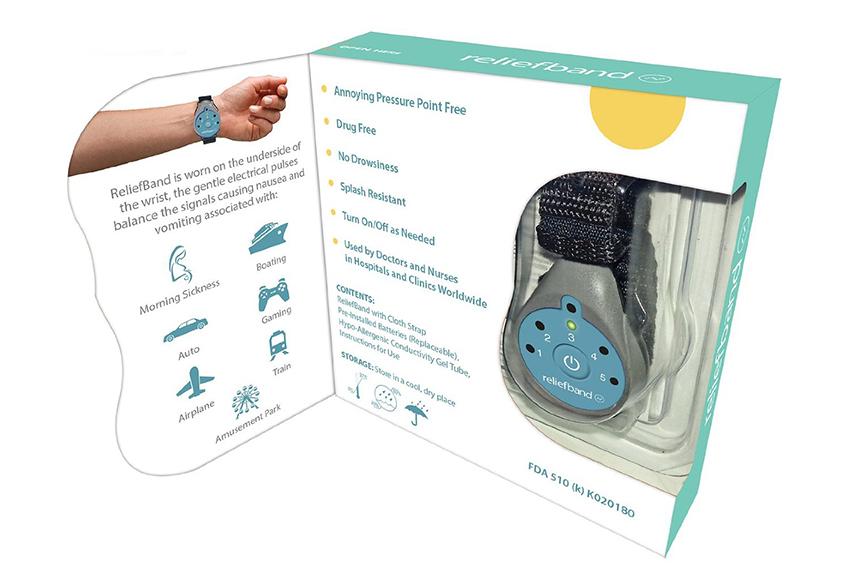 Thiết bị chống say xe có thiết kế dạng vòng tay